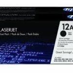 TONER P/LASERJET 1000/3000 DUAL PACK Q2612AD