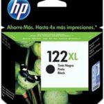 CARTUCHO CH563hl HP N. 122 XL NEGRO 1080