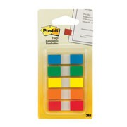 BANDERITAS POST-IT C/DESPACHADOR 3M 5 COLORES 6835